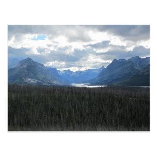 Parc national de glacier cartes postales