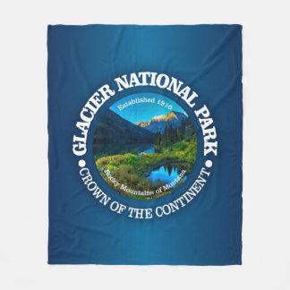 Parc national de glacier couverture polaire
