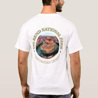 Parc national de grande courbure t-shirt