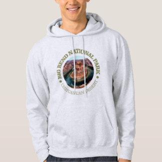 Parc national de grande courbure veste à capuche