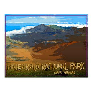 Parc national de Haleakala, Maui Hawaï Carte Postale