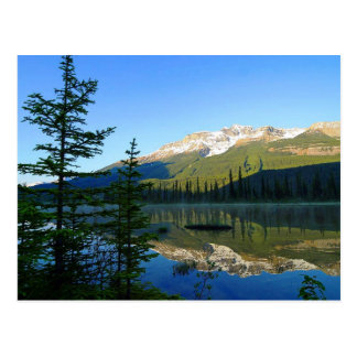Parc national de jaspe, carte postale du Canada