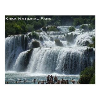 Parc national de Krka Carte Postale