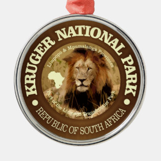 Parc national de Kruger (c) Ornement Rond Argenté
