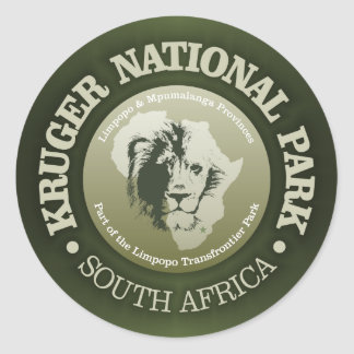 Parc national de Kruger Sticker Rond