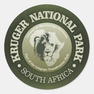 Parc national de Kruger Sticker Rond