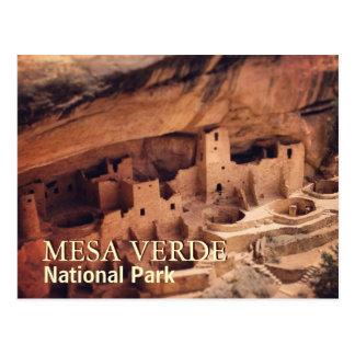 Parc national de MESA Verde Carte Postale