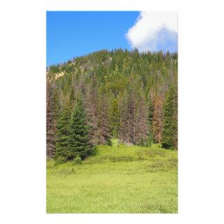 Parc national de montagne rocheuse papeterie