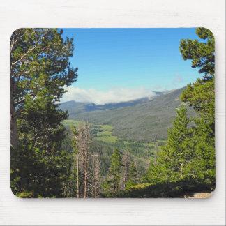 Parc national de montagne rocheuse tapis de souris