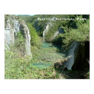 Parc national de Plitvice Carte Postale