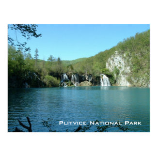 Parc national de Plitvice Carte Postale