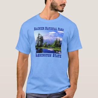 Parc national de Raineer - l'état de Washington T-shirt