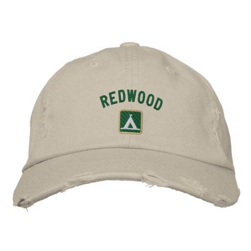 Parc national de séquoia chapeaux brodés