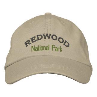 Parc national de séquoia casquette de baseball