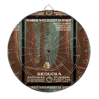 Parc national de séquoia jeux de fléchettes