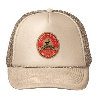 Parc national de séquoias casquette de camionneur