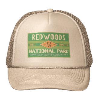 Parc national de séquoias casquettes de camionneur