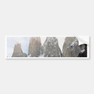 Parc national de Torres del Paine, Chili Autocollant Pour Voiture