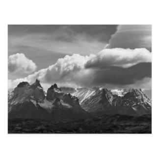 Parc national de Torres Del Paine Cuernos et Carte Postale