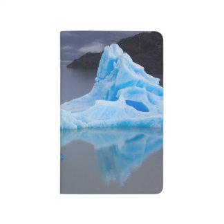 Parc national de Torres del Paine, glace glaciaire Carnet De Poche