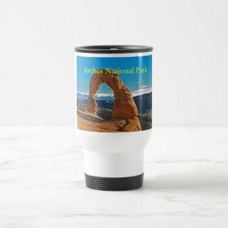Parc national de voûtes mug de voyage