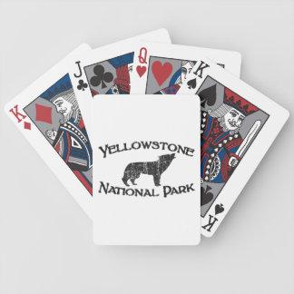 Parc national de Yellowstone Jeu De Cartes