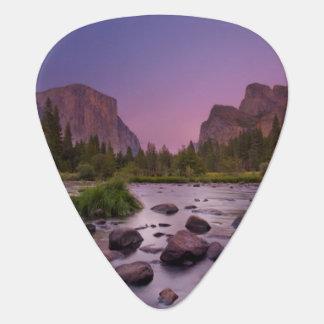 Parc national de Yosemite au crépuscule Onglet De Guitare