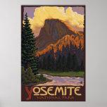 Parc national de Yosemite - demi d'affiche de voya
