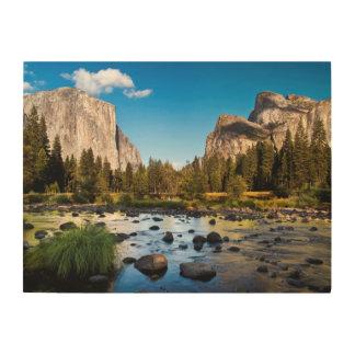 Parc national de Yosemite, la Californie Impression Sur Bois