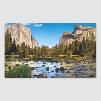 Parc national de Yosemite, la Californie Sticker Rectangulaire