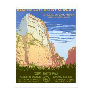 Parc national de Zion Carte Postale