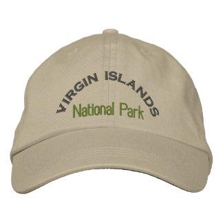 Parc national des Îles Vierges Casquette Brodée