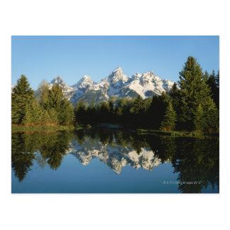 Parc national grand de Teton, chaîne de Teton, Carte Postale