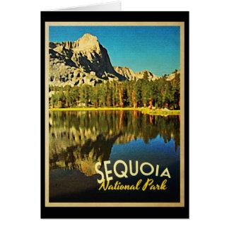 Parc national la Californie de séquoia Cartes