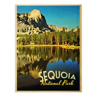 Parc national la Californie de séquoia Carte Postale