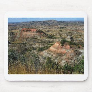 Parc national le Dakota du Nord de bad-lands Tapis De Souris