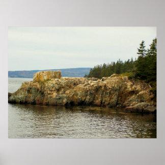 Parc national Maine d'Acadia Affiche