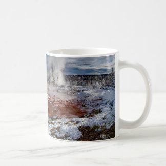 Parc national Wyoming de Yellowstone en hiver Mug