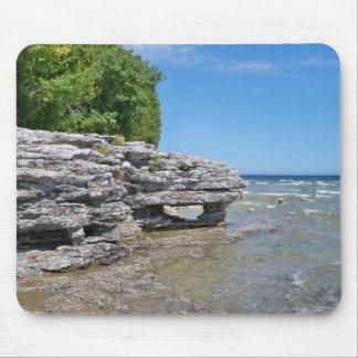 Parc Shoreline de point de caverne Tapis De Souris