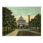 Parc vintage de Chicago Cartes Postales