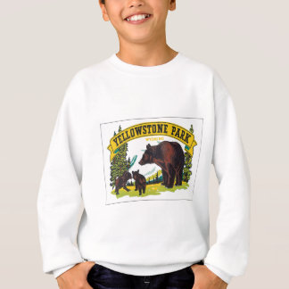 Parc vintage Wyoming Etats-Unis de Yellowstone Sweatshirt