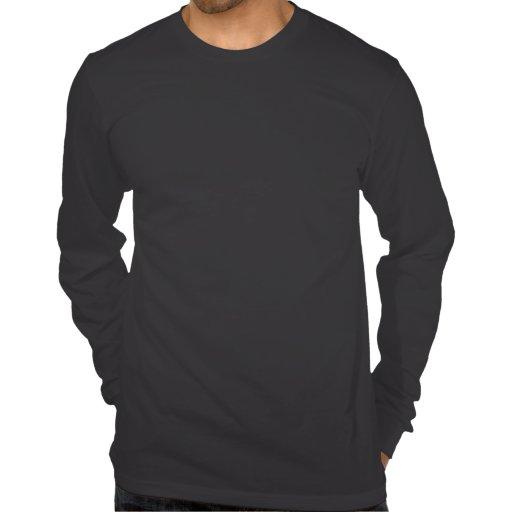 PARCE QUE 'MERICA QUI EST POURQUOI longue chemise  T-shirt