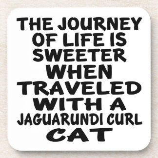 Parcouru avec le chat de boucle de Jaguarundi Sous-bock