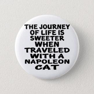 Parcouru avec le chat de napoléon badge