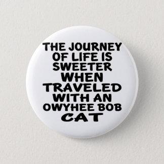 Parcouru avec le chat de plomb d'Owyhee Pin's
