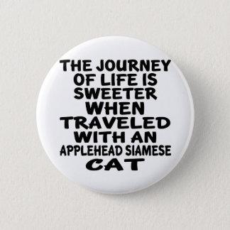 Parcouru avec le chat siamois d'Applehead Badges