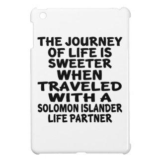 Parcouru avec un associé de la vie d'insulaire de coque pour iPad mini