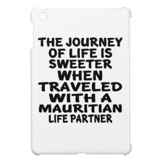 Parcouru avec un associé mauricien de la vie coque iPad mini
