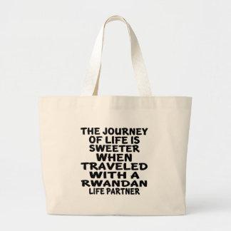 Parcouru avec un associé rwandais de la vie grand sac