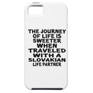 Parcouru avec un associé slovaque de la vie coques iPhone 5 Case-Mate